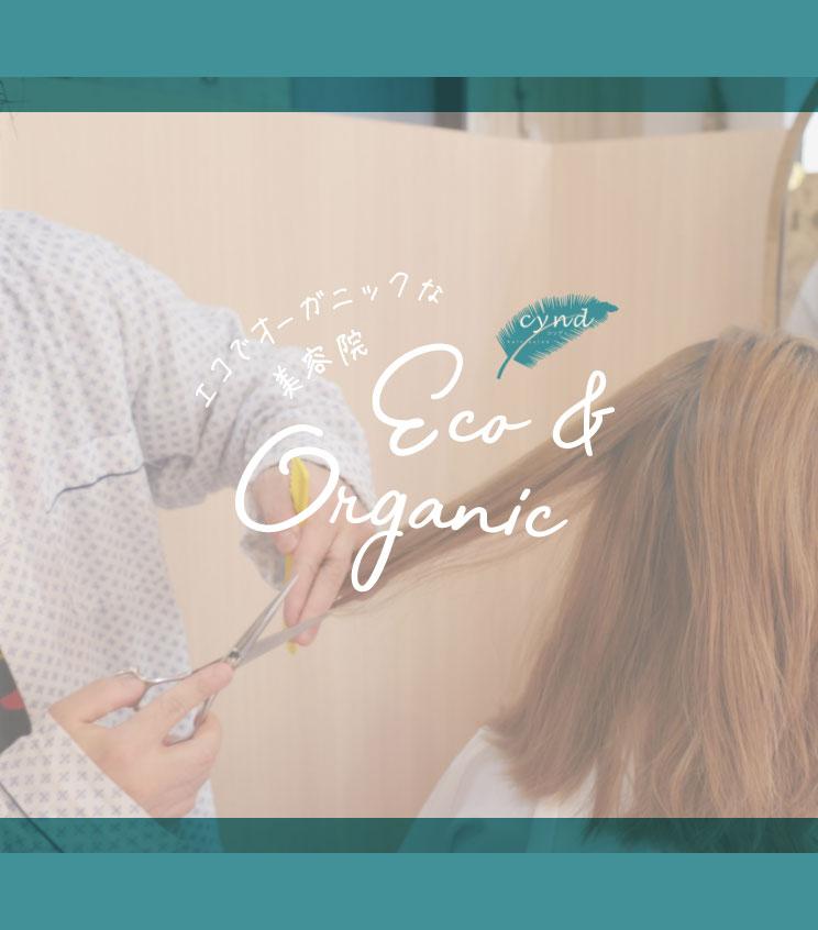 エコでオーガニックな美容院 cynd Eco&Organic